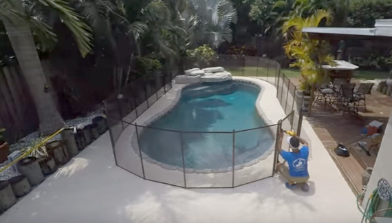 Baby Guard Pool Fence Installation